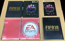 FIFA 18 Ultimate Team STEELBOOK Estuche + Acero artcard PS4 & Xbox One ~ sin juego SC