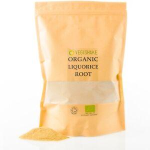 Organic Liquorice Root Immune-Boosting Anti-Inflammatory Glycyrrhiza DGL Vegan