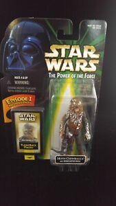 Hoth Chewbacca KENNER MOC Star Wars Episode 1 Flashback 1998 POTF2 Power Force