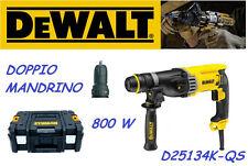 TRAPANO TASSELLATORE MARTELLO DEWALT D25134K-QS SDS-Plus 800W + VALIGETTA TSTAK