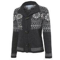 $200 Obermeyer Soraya Sweater Womens S, M, L NWT Cardigan Lambswool Soft Gray