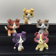 5X Littlest Pet Shop LPS Toys Collie Dog Playset #272 #1542 #1676 #1262 #67 Gift
