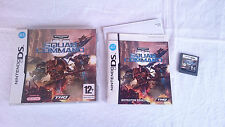 JUEGO WARHAMMER 40.000 SQUAD COMMAND NINTENDO DS DSI 2DS 3DS XL PAL UK INGLÉS