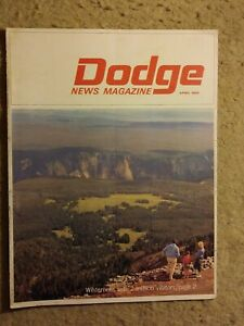 "1965 Dodge news magazine ""Wilderness w/2 million visitors"" - great condition"