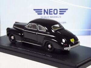 (KI-07-22) Neo Scale Models Chevrolet Special de Luxe Coupé 1941 IN 1:43 IN Ovp