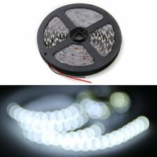 5m SMD 5050/3528 RGB 60 LED Strip Adapter Warm White light LED Strip Bar 12V