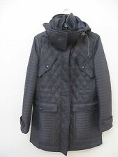 >NEW  BURBERRY BRIT Women Bosworth Quilted Patchwork Coat Size M MSRP $ 895.00
