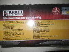 Kraft Werkzeuge -Steckschlüssel-Set-  53-teilig NEU/OVP