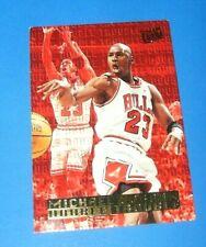 1995-96 Fleer Ultra Michael Jordan Double Trouble #3 Chicago Bulls