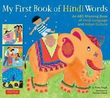 My First Book of Hindi Words: An ABC Rhyming Book of Hindi Language and Indian C