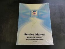 Allison Transmission MD/B 300/B 400 Series Service Manual