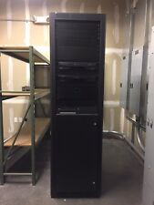 7 Foot Middle Atlantic Loaded Av Rack W/ Shure Mitsubishi Amx Gentner Etc.