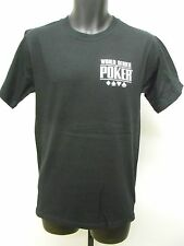 NEW World Series Of Poker SHARK Shirt Mens Small S  54GF