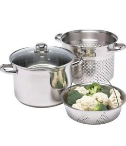 NEW Kitchencraft Pasta Cooker And Steamer.