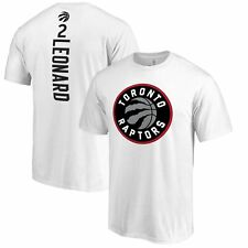 Kawhi Leonard Toronto Raptors Fanatics Branded Team Backer Name & Number T-Shirt