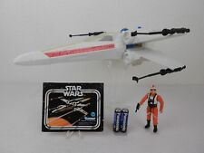 """Vintage Star Wars ANH 1978  X-Wing Fighter **Great** """"Complete/Working"""" Kenner"""