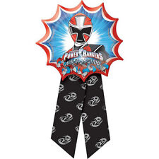 POWER RANGERS Ninja Steel GUEST OF HONOR RIBBON ~ Birthday Party Supplies Favors