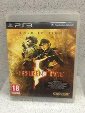 RESIDENT EVIL GOLD EDITION JEUX PS3 AVEC NOTICE PLAYSTATION