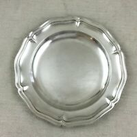 Antique Christofle Serving Tray Dish Silver Under Plate French Silver Plated