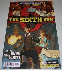 The Sixth Gun #1 Free Comic Book Day Edition (2010) Nbc Tv series? (Fn+) Rare!