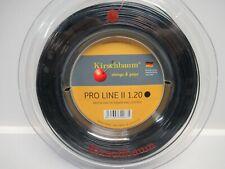 *NEW* KIRSCHBAUM PRO LINE II 1.20 18g 200M (660') POLYESTER TENNIS STRING REEL