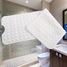 Alfombra de baño Antideslizante Alfombrillas para ducha 100x40cm Color Blanco