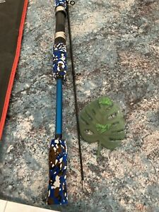 Trout Whitingrod and reel combo 2piece carbon fibre rod 1.8mwith 12 bearing reel