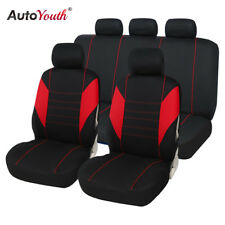 Car Seat Covers Full Set Car Seat Protector Car Accessories Interior RED