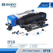 BENRO  IF19 camera Tripod Aluminium Portable Travel Tripods