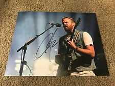 Caleb Followill autographed 11x14 Photo Kings of Leon Lead Singer