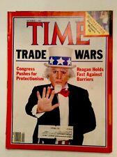 TIME MAGAZINE OCTOBER 7 1985 FITNESS MEXICO CITY EARTHQUAKE REAGAN  VERY GOOD