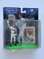 Mark McGwire 2000 Commemorative ST. Louis Cardinals Starting Lineup Figure/Card