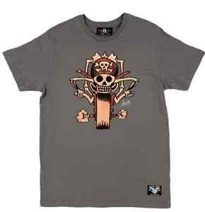Sailor Jerry Rum Chopper Tattoo Biker Pirate Motorcycle Punk T Tee Shirt S-2XL