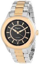 Ferragamo Men's FQ1050013 Lungarno Gold Ion Swiss Automatic ETA 2824-2 Watch