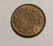 India-British 1939-B 1/12 Anna unc Coin