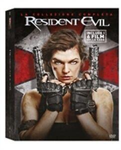 Resident Evil - La Collezione Completa 6 Film (6 DVD) - ITA ORIGINALE SIGILLATO-