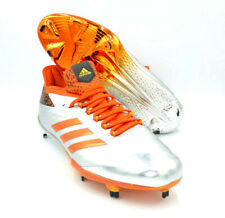 low priced 2b6a9 2e102 Adidas Adizero Afterburner 4 Orange Baseball Metal Cleats  BY3680  Size 12.5