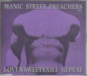MANIC STREET PREACHERS   CD-SINGLE  LOVE'S SWEET EXILE  ©  1991