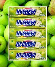 10 Bars HI-CHEW GREEN APPLE Morinaga Fruit Chews Candy 1.76 oz. Each