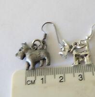 Terriers, Dog breeds, cute cartoon Scottish, Westie, Norwich, Aussie earrings