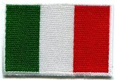 Italian flag Italy Rome hope faith charity applique iron-on patch Small S-101