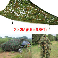 6.5x9.8ft Woodland Camouflage Net Camo Netting Military Hunting Hide Shelter