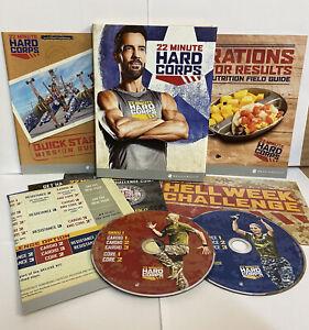 22 MINUTE HARD CORPS 2 DVD'S NEW SEALED TONY HORTON FITNESS TRAINING FIT TRAIN