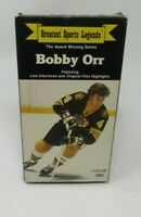 BOBBY ORR - GREATEST SPORTS LEGENDS COLLECTOR'S SERIES VHS VIDEO, 1985, GUC