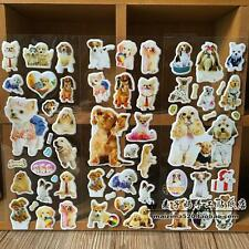 3pcs puffy pet dog stickers lot Kids favor reward toys doll Xmas party gift new