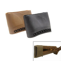 Hunting Rifle Rubber Recoil Pad Tactical Shotgun Slip-On Buttstock Protector