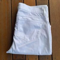 Not Your Daughters Jeans NYDJ Size US 10 UK 14 White Jeans