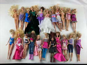 Large lot barbies. 22 Total From 90's And 2000's