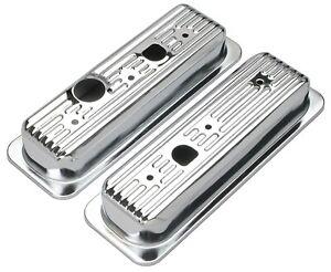 Trans-Dapt Performance 9458 Valve Cover Chrome Steel Fits 90-95 G10 S10 - 4.3 L