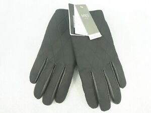 Marks & Spencer 3M Thinsulate Insulation Leather Gloves For Men Size Medium New